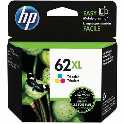 Genuine HP 62XL High Capacity Colour Ink Cartridge (C2P07AE) For Envy 5540