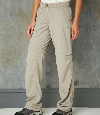 Craghoppers - Ladies NosiLife Convertible Trousers - Insect Repellent Fabric