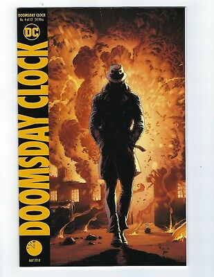 Doomsday Clock # 4 of 12 Variant Cover NM DC