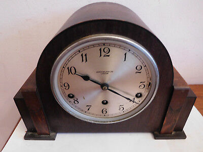 "Antique ""james Walker Ltd "" Garrard Movement Westminster Chime Mantle Clock#1931"