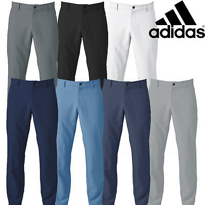 Adidas 2018 Men's Golf 3-Stripes Ultimate 365 Water Resistant Tapered Trousers