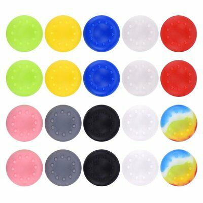 x1 Pair Dotted Rubber Analog Controller Thumb Pad Cover Grip PS4 PS3 XBOX ONE