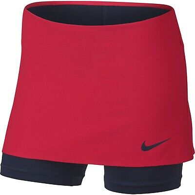 Girls' Nike Power Tennis Skort Red Size XL (age 13-15 years)