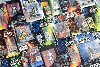 Star Wars Mixed Character Carded Figures (A)