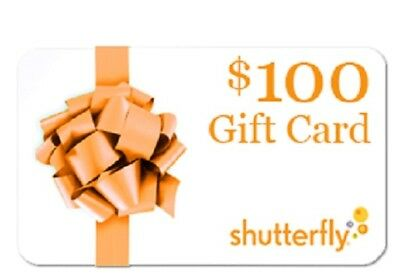 $100 Shutterfly.Com Gift Certificates