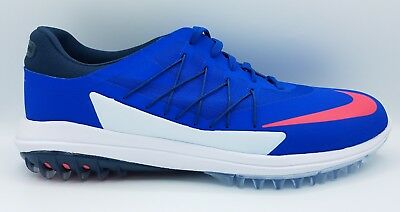 wholesale dealer 8f51a 497f8 Nike Lunar Control Vapor Golf Shoes Blue White Jay Red Pink 849971-401 Size  11.5