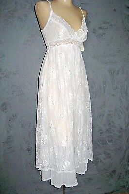 Claire Pettibone Bridal White Gown Ballet HARMONY Lace XS NeW $170 Neiman Marcus