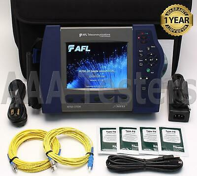 AFL Noyes M700-20 SM Long Haul Fiber OTDR w/ VFL & Power Meter M700 M 700