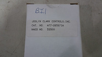 Joslyn Clark A77-285873A New In Box Auxiliary Contact 1 No 1 Nc See Pics #b71