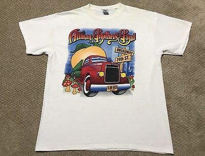 Vtg The Allman Brothers Band T-Shirt Beacon Theatre March 1998 Tour T-Shirt XL