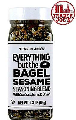 🔥 Trader Joe's Everything but the Bagel Sesame Seasoning Blend Joe's Spices 🔥