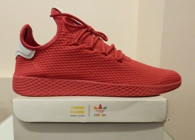 huge discount 5cc07 e7e47 Men Adidas Pharrell Williams PW Tennis Hu BY8720 Red sizes 9, 10.5, 11,