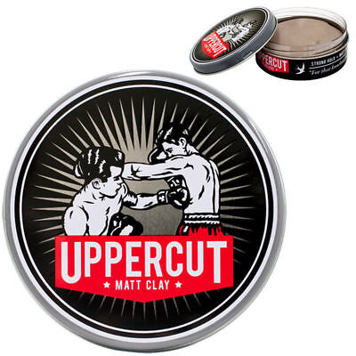 UPPERCUT DELUXE MATT CLAY HAIR WAX STRONG HOLD 60g 100% GENUINE