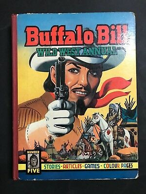 Buffalo Bill Wild West Annual #5 184 Pages, From 1953