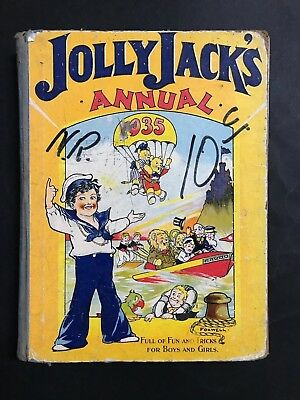 Jolly Jacks Annual From 1935, 135 Pages