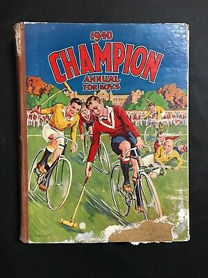 Champion Annual For Boys From 1940