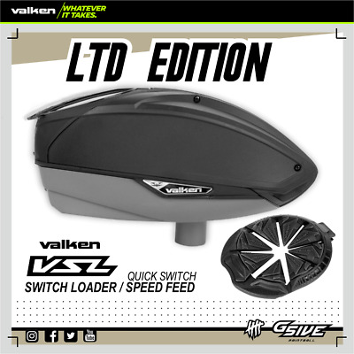 VALKEN VSL Switch Loader Hopper + Speed Feed Paintball Limited Edition NEU