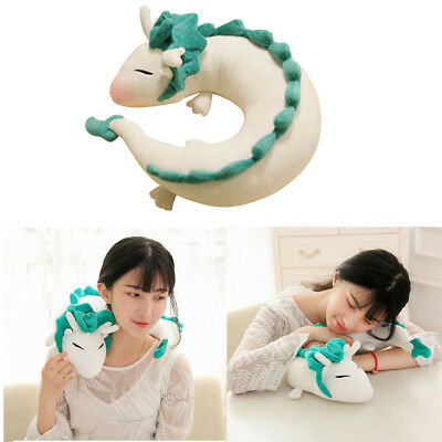 Ghibli Miyazaki Hayao Plush Spirited Away Haku Cute Doll Stuff Plush Toy Pillow