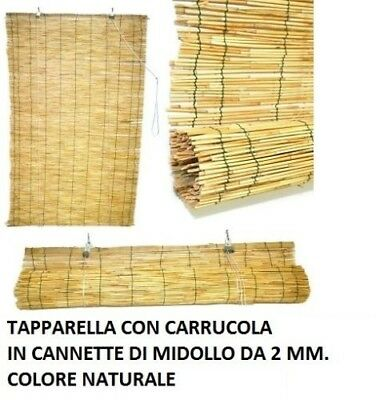 Tapparella a carrucola oriente in bamboo tapparelle ombra arelle varie misure