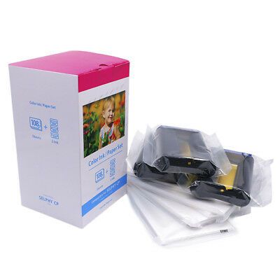 """Compatible Canon KP108in 4 x 6"""" Ink & Paper Set for Selphy CP1200  VAT included"""
