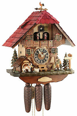 Hönes Watch of the Year 2017 44cm- 2017-8 Cuckoo Clock Original Black Forest