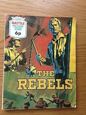 BATTLE PICTURE LIBRARY No.619 - THE REBELS