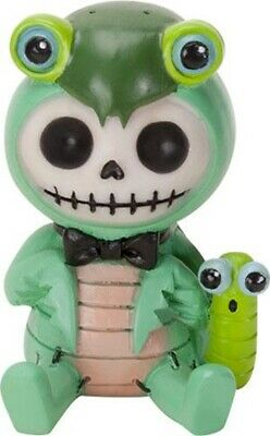 FurryBones Manny Figurine Ornament Praying Mantis Gothic Cute Skull Cool Gift