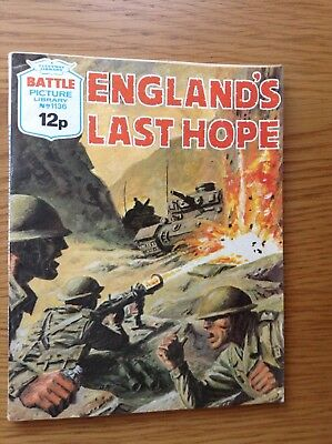 BATTLE PICTURE LIBRARY No.1136 - ENGLAND'S LAST HOPE