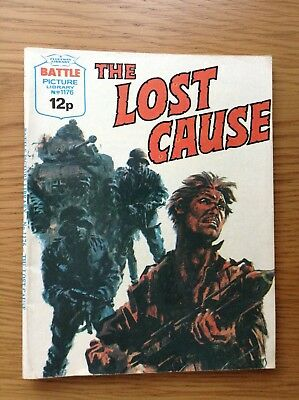BATTLE PICTURE LIBRARY No.1176 - THE LOST CAUSE