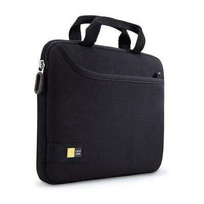 """Case Logic iPad and 10"""" Tablet Attache with Pocket, Black #TNEO110-BK"""