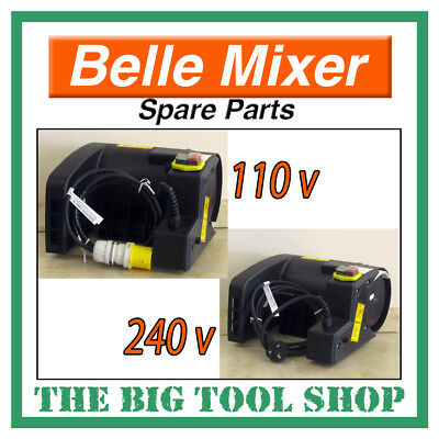 Belle 240v & 110v Motor Minimix 150 Mixer *Genuine* Part* Concrete Cement Mixer
