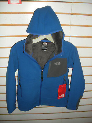 The North Face Boys -Youth Chimborazo Hoodie Fleece Jacket -C Blue- S.m,l,xl