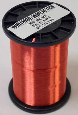 Whitmor / Wirenetics Magnet Wire Desc: Hpn Red, Size: 47 Awg, Qty: 1.45 Lbs