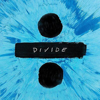 Ed Sheeran Divide DELUXE album CD. New and sealed. Free postage.