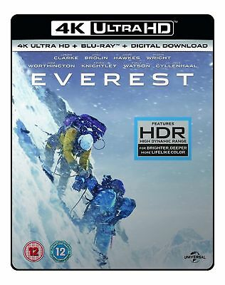 Everest 4K UHD Blu-ray HDR Brand New UK Stock Sealed