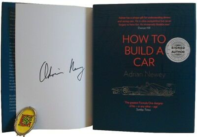 Signed Book - How to Build a Car by Adrian Newey