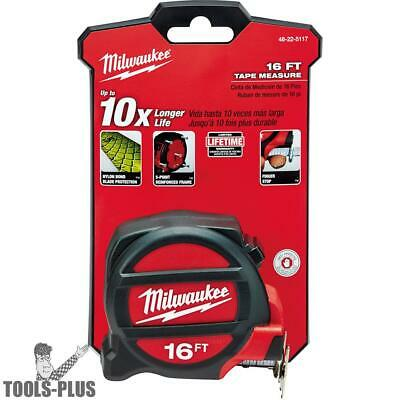 Milwaukee 48-22-5117 16' Tape Measure New