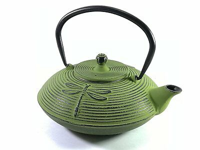 Buckingham DRAGONFLY Pattern Tetsubin Japanese Style Cast Iron Teapot 800ml