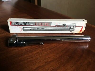 VINTAGE 1960's  Petrol PEN TORCH LIGHTER