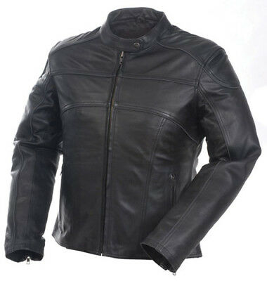Mossi 20-218-10 Women's Premium Jacket Black Leather 4 Inner Pockets - 10