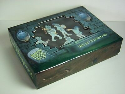 Disney Pin Haunted Mansion Friday 13th Ghostly Quintet 5 Pin Boxed Set LE 500