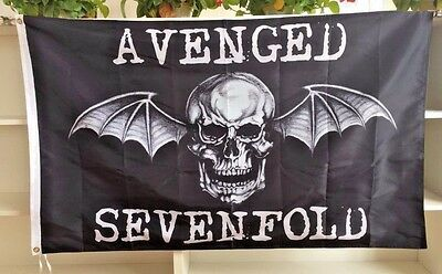Avenged Sevenfold Death Bat Flag Outdoor or Indoor use Christmas Gift