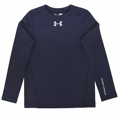 Under Armour Boys' ColdGear Fitted Crew L/S Shirt