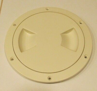 """Viking Marine Boat BISQUE 5"""" Access Hatch Cover Twist Out Deck Plate SALE"""