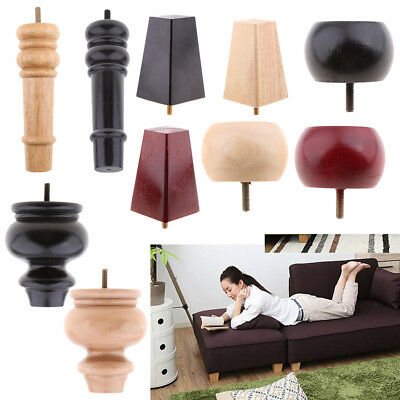 Universal Wooden Furniture Leg   Sofa/Couch/Chair Feet Plinth, Bed Risers X