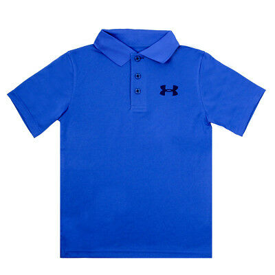 Under Armour Boys' Match Play Contrast Stitching Polo Shirt