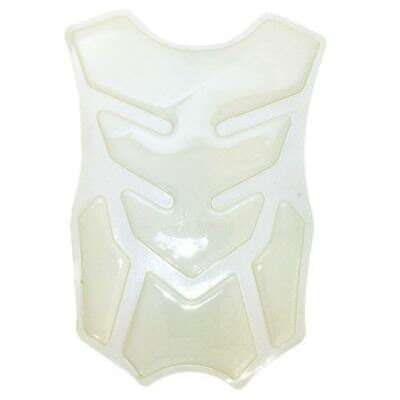Motohart Moto Motorcycle Bike Scooter Scorpius Tank Spine Protector Pad - Clear
