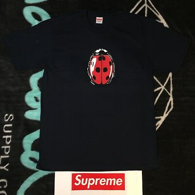7d76c973e SUPREME LADYBUG TEE (Large) (Navy) Ss18 Summer Tee Tv Fu*K Face ...
