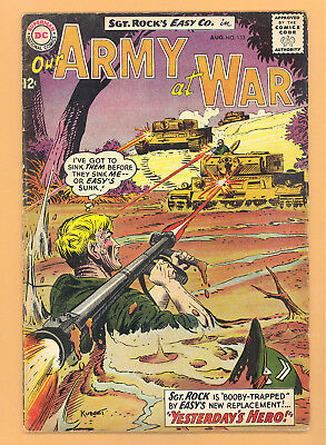 Our Army At War #133 Dc Comics Silver Age Vg Rare L@@k