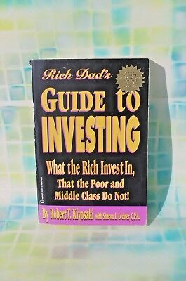 Rich Dad S Guide To Investing By Robert T Kiyosaki Free Shipping